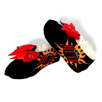 Custom Printed Cheer Shoe Covers