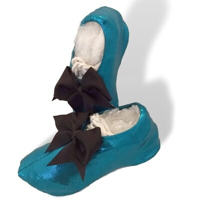 Mystique Shine Cheer Shoe Covers