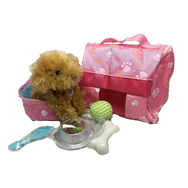 Plush Puppy™ Carrier & Accessory Set