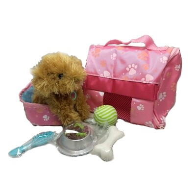 Plush Puppy™ Carrier & Accessory Set