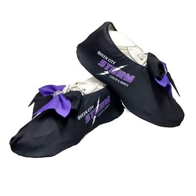 Queen City Storm Cheer Shoe Covers