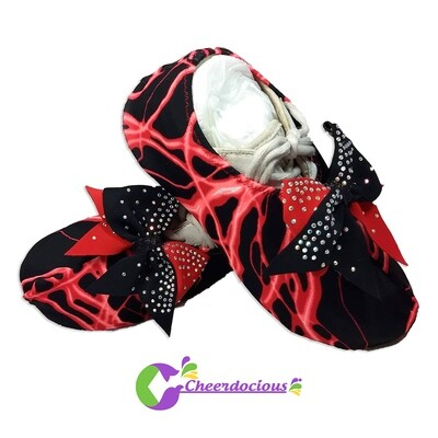 Lightning Flash Cheer Shoe Covers