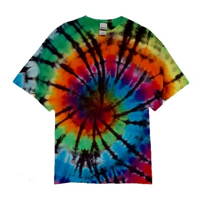 Traditional Rainbow Spiral Tie-Dye