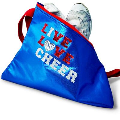 Live Love Cheer (I Love Cheer) Bag