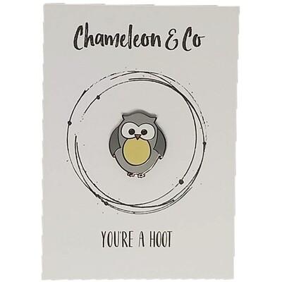 Owl Enamel - You're a Hoot!