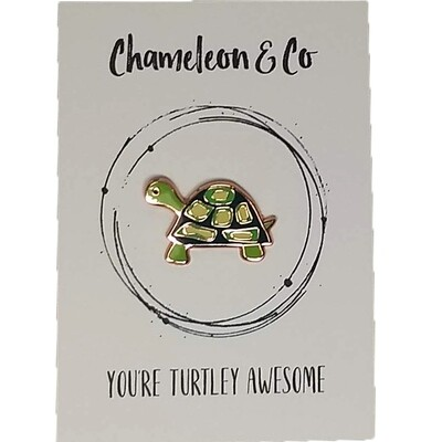 Turtle Enamel - You're Turtley Awesome!