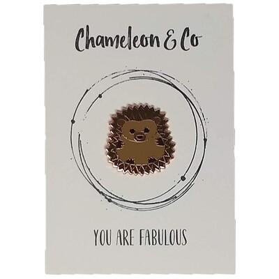 Hedgehog Enamel - You Are Fabulous!