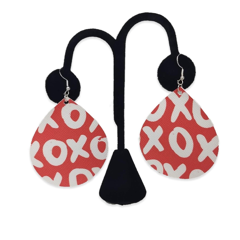 XOXO Teardrop Earrings