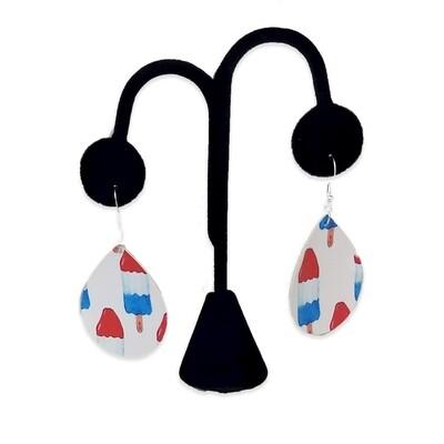 Rocket Pop Teardrop Earrings