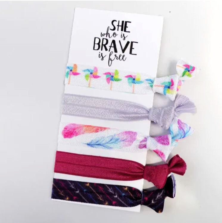 She Who is Brave - Hair Ties