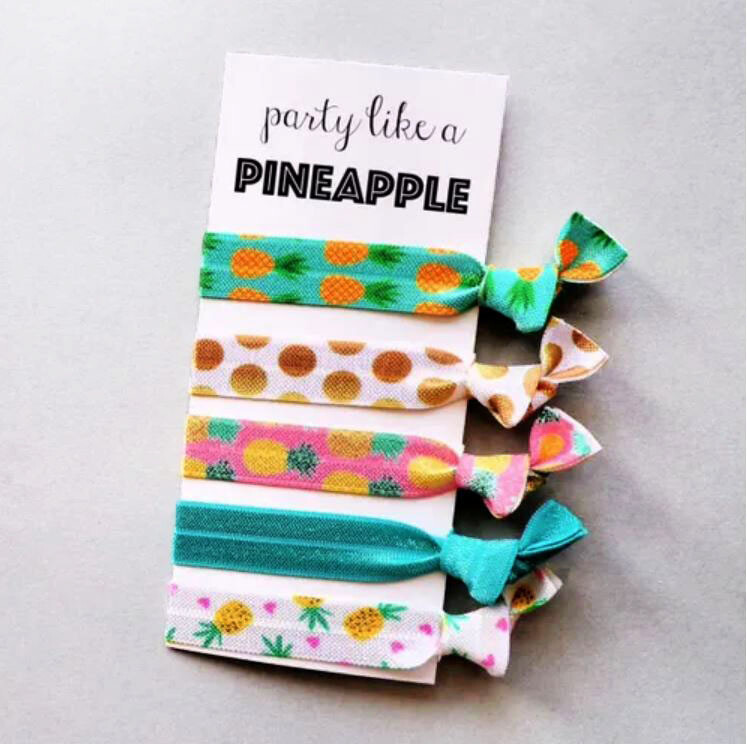 Party Like A Pineapple  - Hair Ties