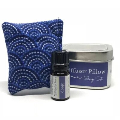 Sleep Oil & Diffuser Pillow