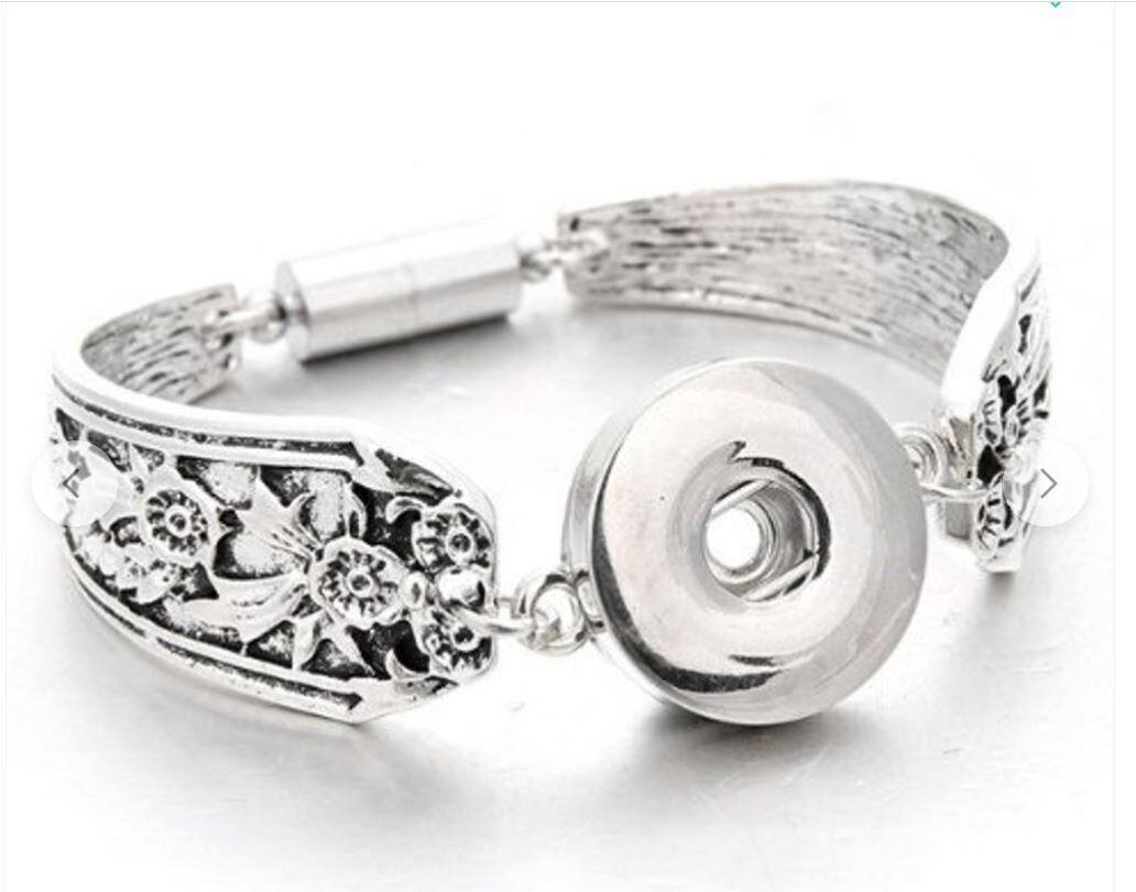 Spoon Style Cuff Bracelet
