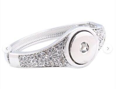 Cuff Style Snap Bracelet