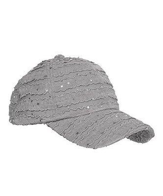 Glitter Cap - Gray