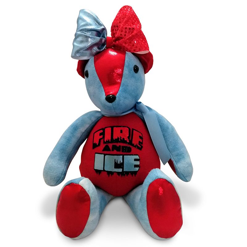 Fire & Ice All Star Cheer Spirit Bear