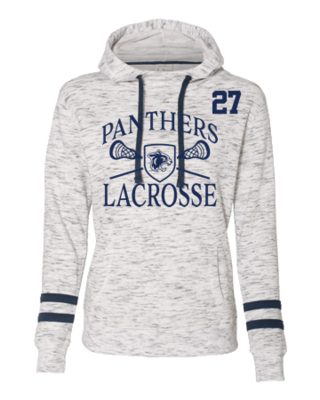 2020 FR LAX Ladies' Melange Fleece Hoodie