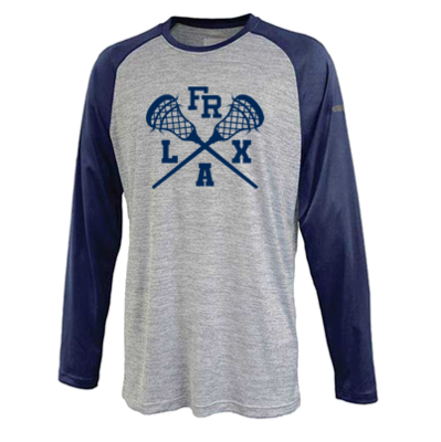 2020 FR LAX UNISEX/YOUTH Stratos Performance Raglan Crew