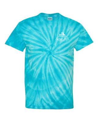 SHCS Unisex  Tie Dye Short Sleeve T-Shirt