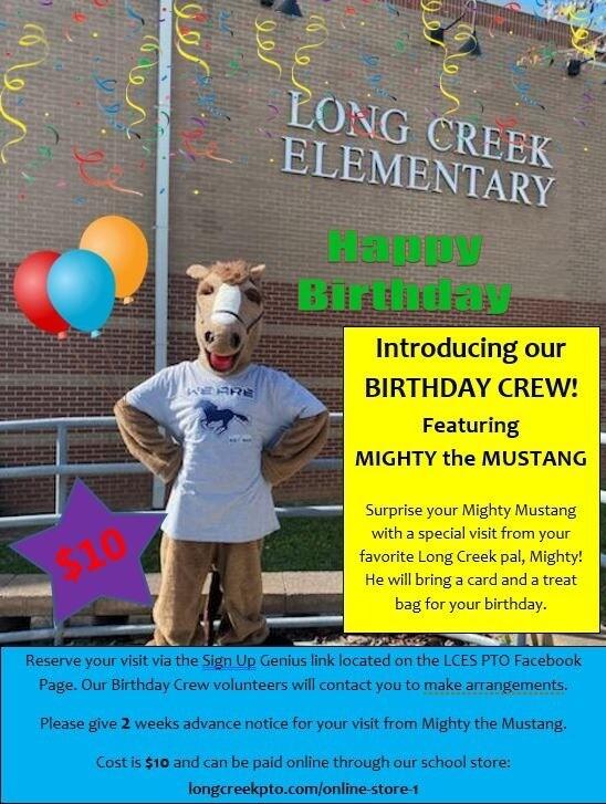Birthday Crew Reservation