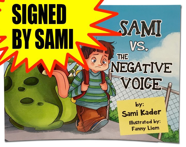 Sami vs The Negative Voice - SIGNED