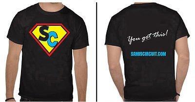 SUPER SAMI shirt - multicolor logo