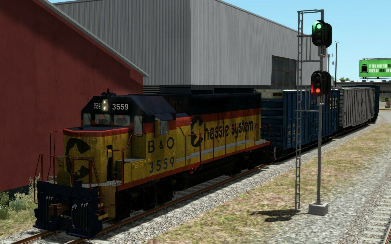 EMD GP35 Baltimore & Ohio + Chessie System Add-On