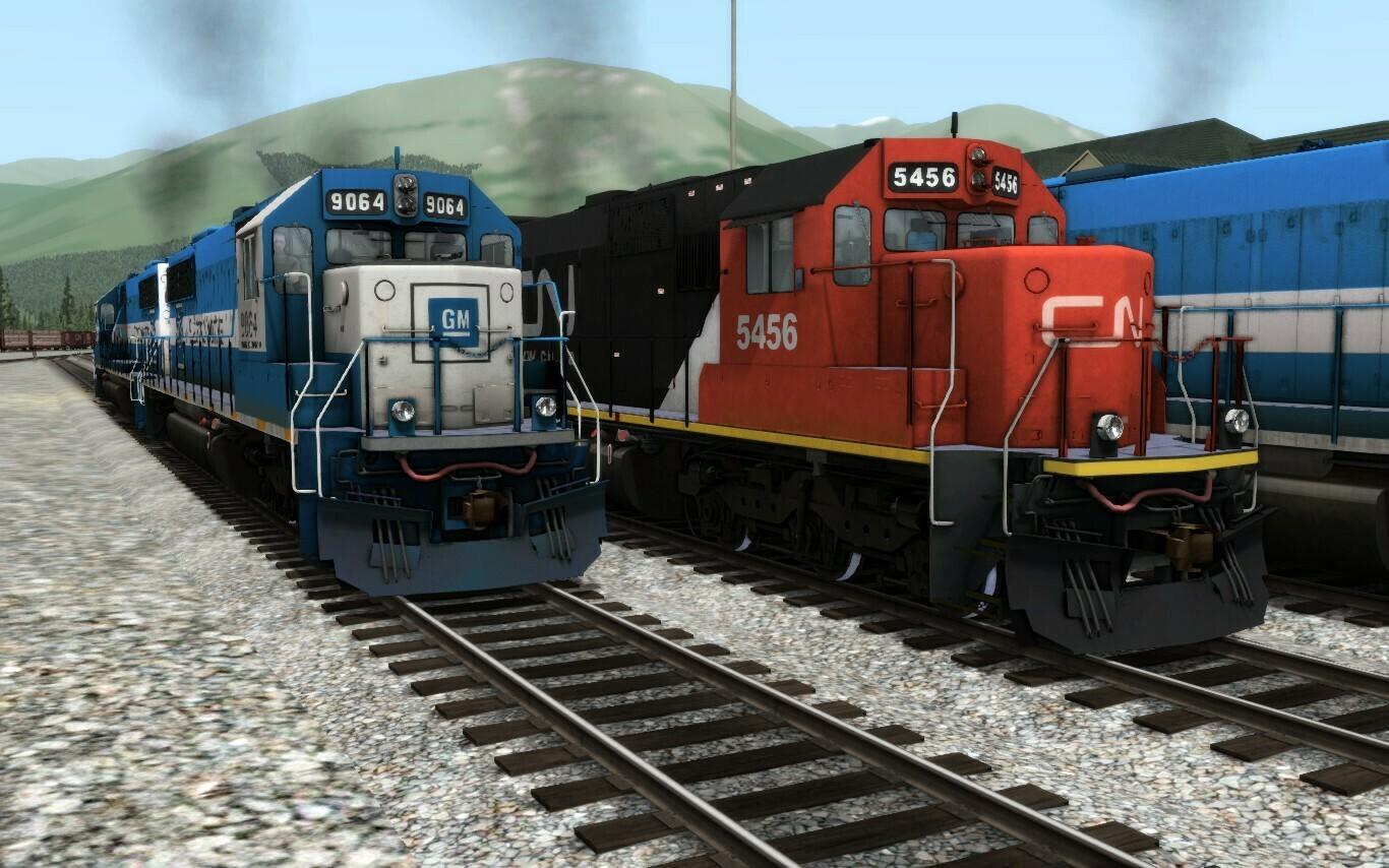 EMD SD60 CN / GMTX / CSX-ny3 & Oakway livery [PACK 1]