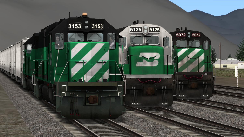 EMD+GE Burlington Northern - Complete Edition Add-On