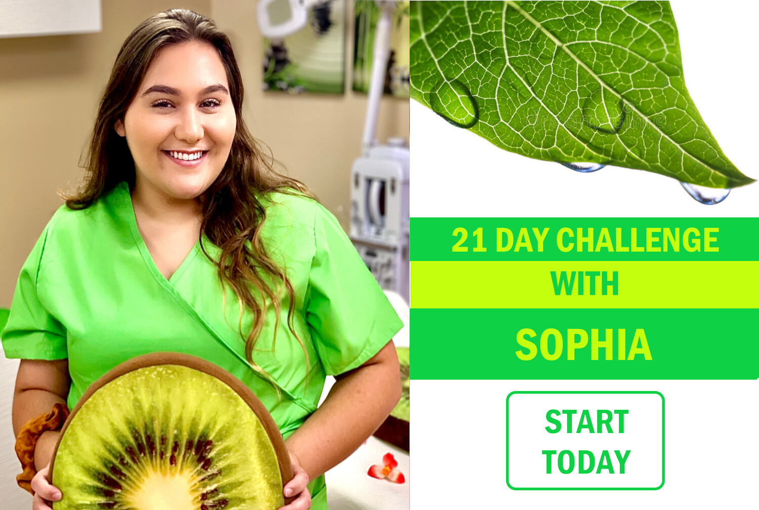 21 Day Challenge With Sophia