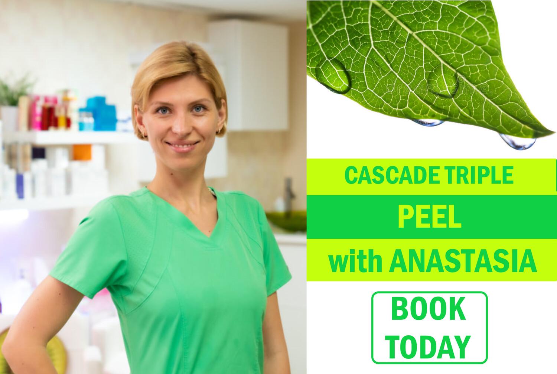 Cascade DIY Peel With Anastasia