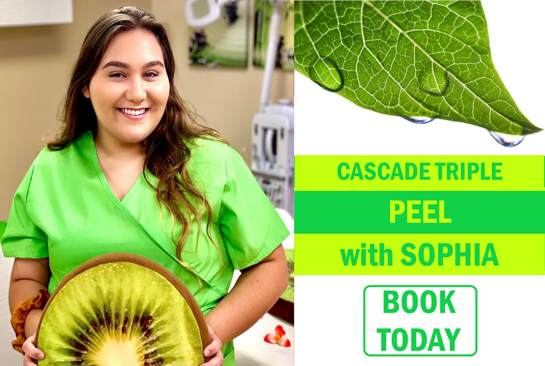 Cascade DIY Peel With Sophia