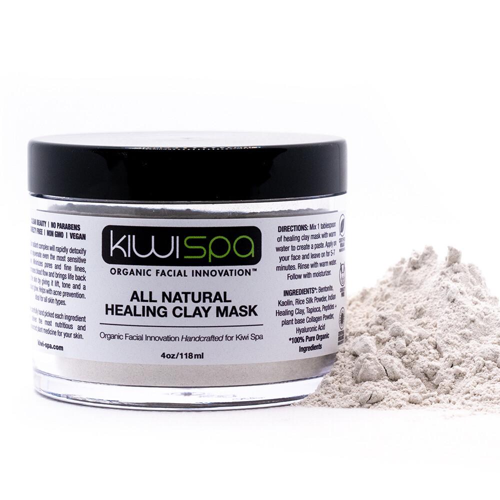 All Natural Healing Clay Mask