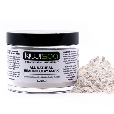 All Natural Healing Clay Mask