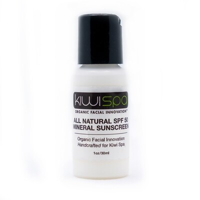 All Natural Mineral Sunscreen 1oz