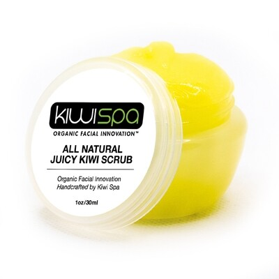 All Natural Juicy Kiwi Scrub