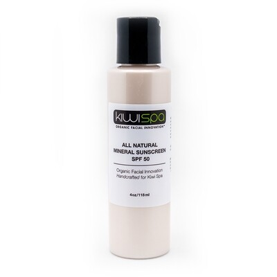 All Natural Mineral Sunscreen 4oz