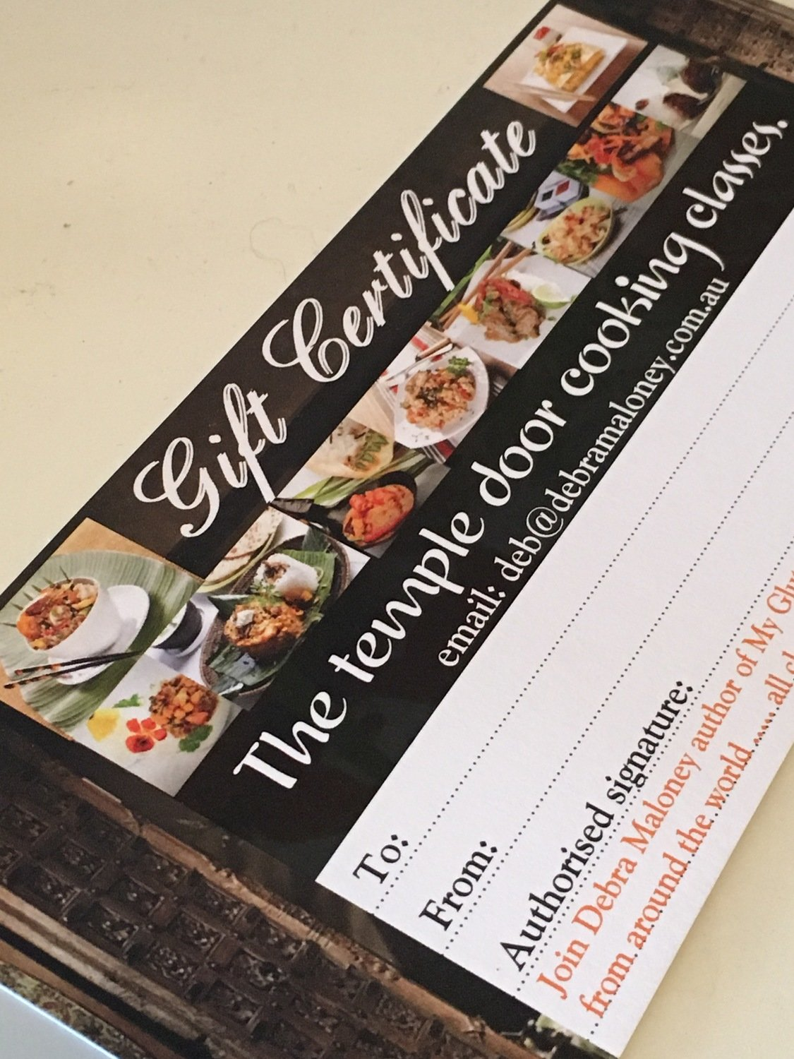 Gift Certificate - Other classes