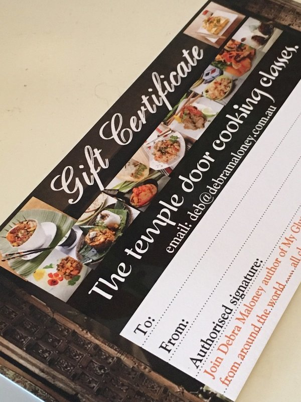 Gift Voucher - Seafood classes