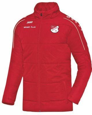 Jako Coachjacke Classico rot FV Rot Weiß Hellersdorf
