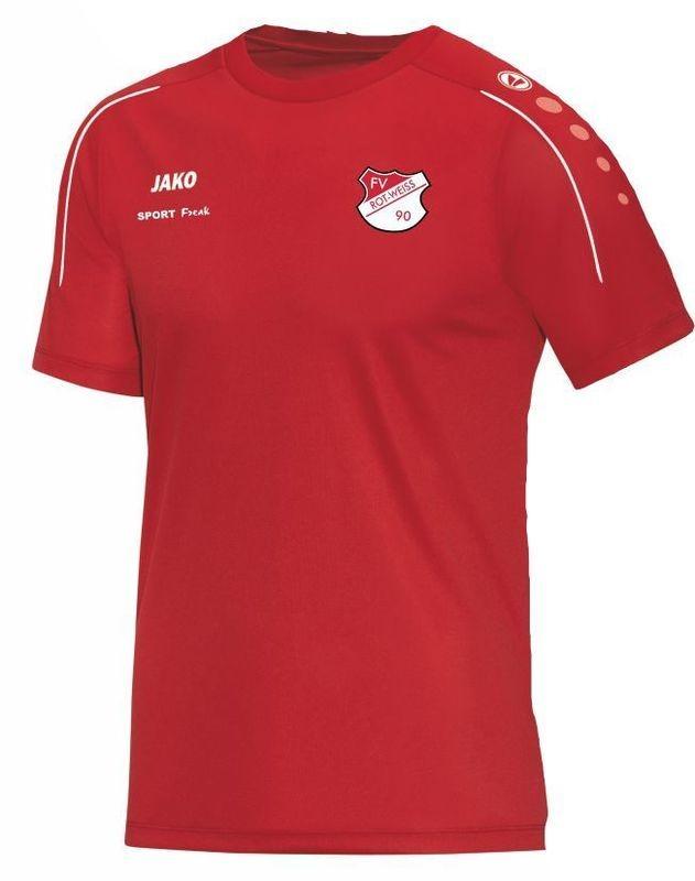 Jako T-Shirt Classico rot FV Rot Weiß Hellersdorf