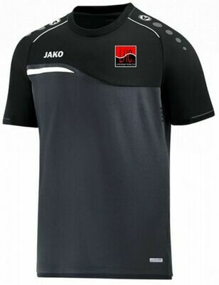 Jako Shirt anthraziz/schwarz Kinder Lichtenberger Hockey Club