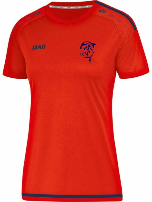 Jako T-Shirt Damen Striker 2.0 Tauchsportclub Marzahn Finswimming Team