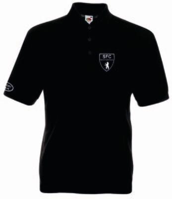 Polo-Shirt Baumwollmischgewebe Erwachsene SFC Friedrichshain