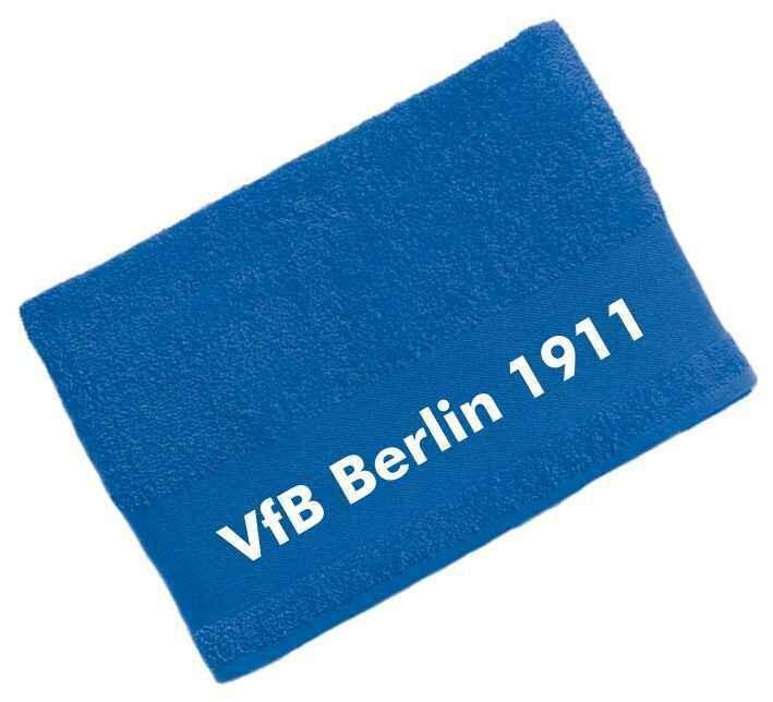 Handtuch royalblau VFB Berlin Friedrichshain 1911