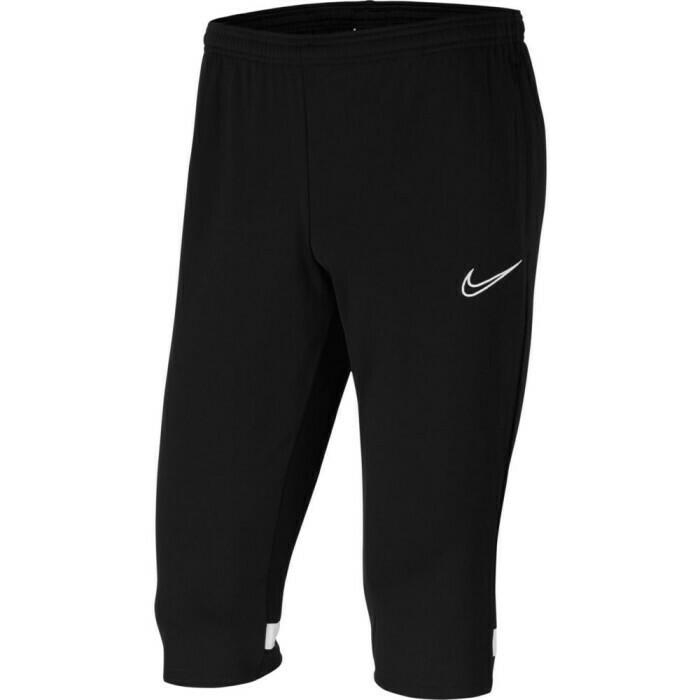 Nike Academy 21 3/4 Pant schwarz