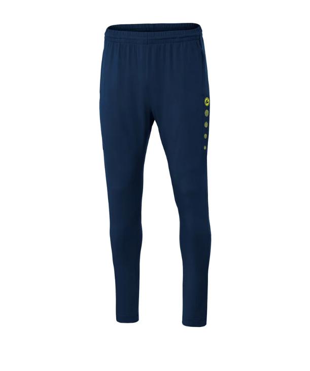Jako Premium Trainingshose blau/gelb