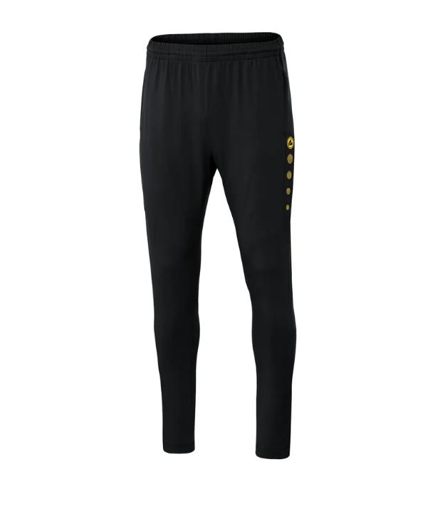 Jako Premium Trainingshose schwarz/gelb