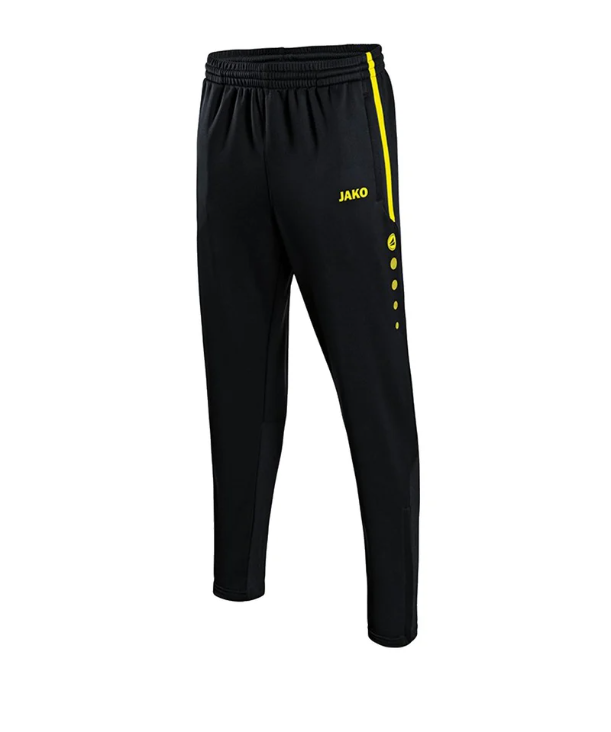 Jako Active Trainingshose schwarz/gelb