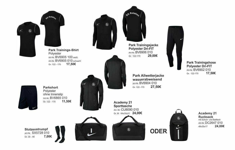 Nike großes Paket Kinder SG Rotation Prenzlauer Berg